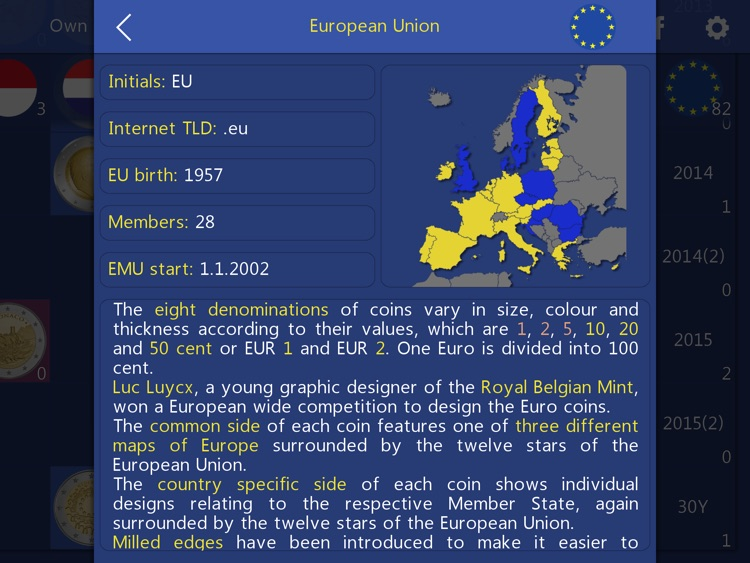 Euro Coin Collection HD - 2 Euro Commemoratives screenshot-4