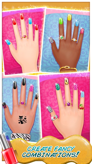 High School Nail Art Nail Salon Girls Game App Mobile Apps