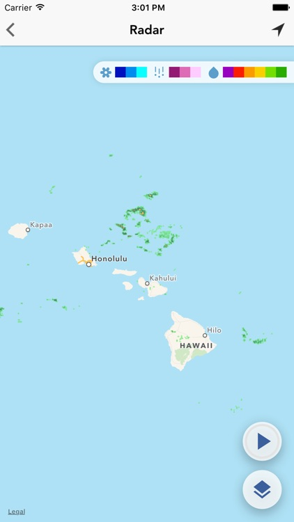 MAUIwx Maui, Hawaii Weather Forecast Radar Traffic by