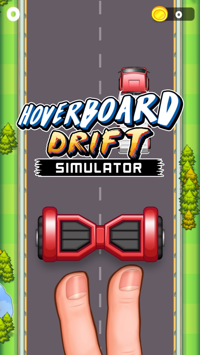 Hoverboard Drift Sim Simulator- Tricky Hover Board Screenshot