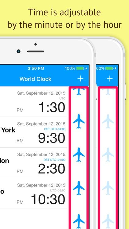 World Clock -Time Shift Clock-