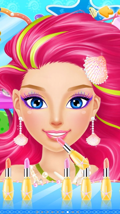 Mermaid Salon™ - Girls Makeup, Dressup and Makeover Games screenshot-3