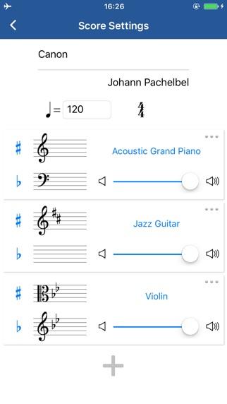 Notation Pad - 작곡가 악보 악보를 for Windows