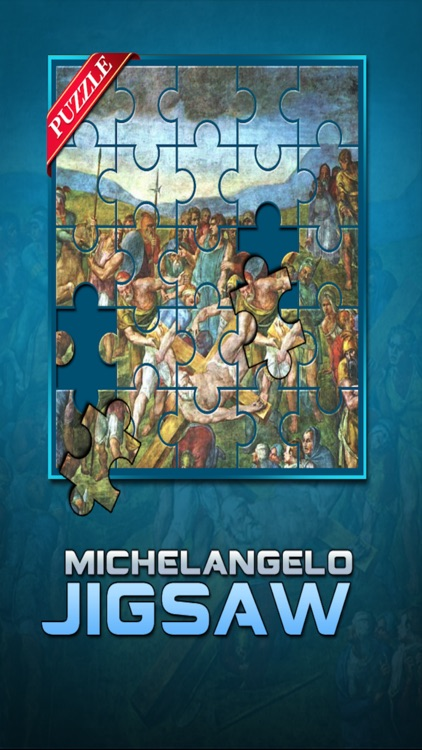Michelangelo Jigsaw screenshot-0
