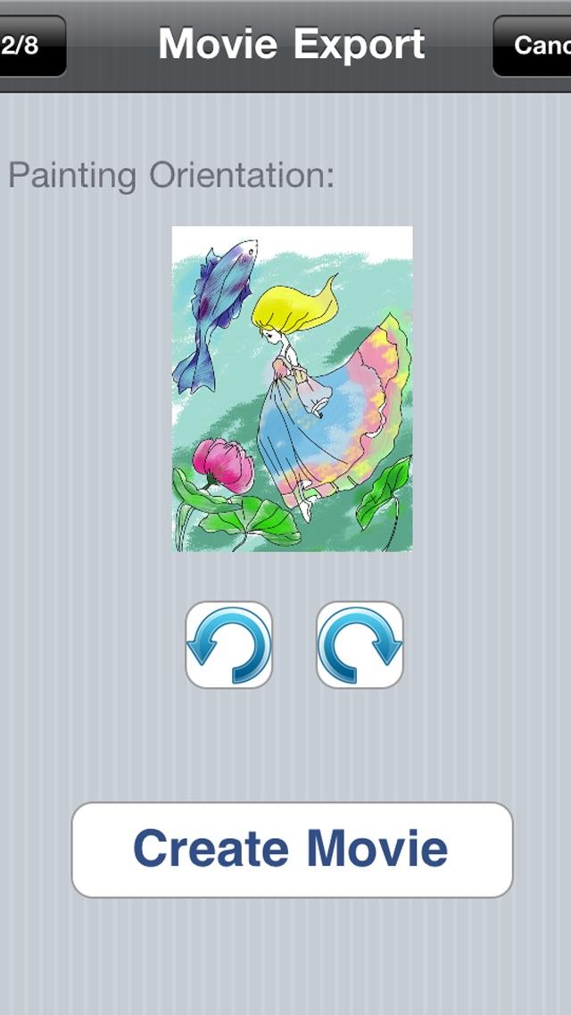お姫様ぬりえ絵本 -デコぬりえ - お絵描きパッドとぬりえの2in1スクリーンショット5