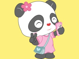 Pandi & Pando Stickers for iMessage
