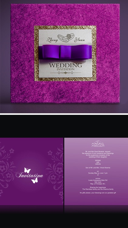 Wedding Card Designs: Cool Invitation Cards Ideas screenshot-4