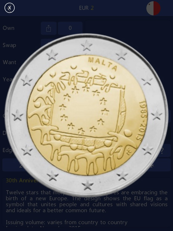 Euro Coin Collection HD - 2 Euro Commemoratives screenshot-3