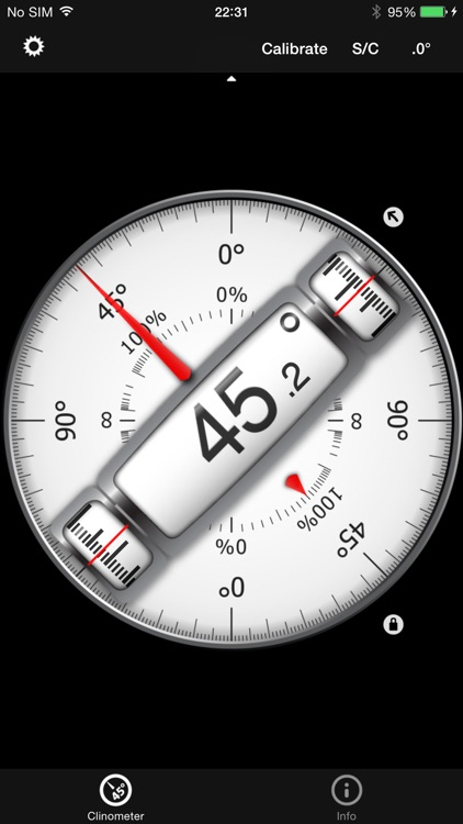 Bubble level and Clinometer