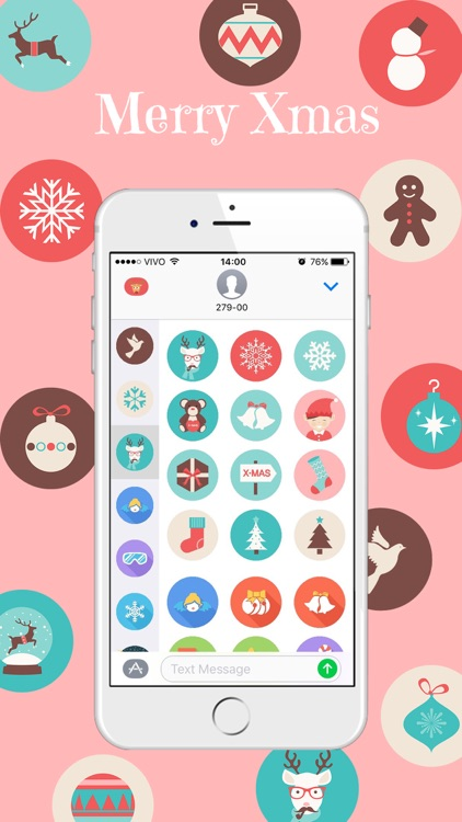 Xmas Stickers - Christmas Moji for iMessage screenshot-2