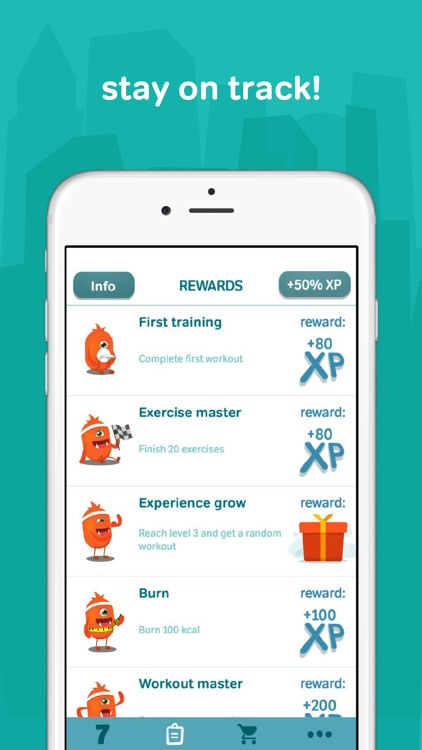 Fitness for women:workouts,exercises,routines,plan screenshot-4