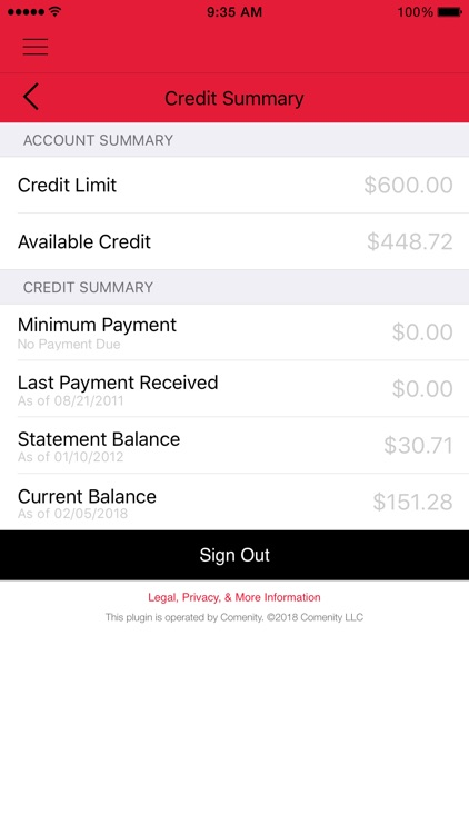 Talbots Credit Card App screenshot-2