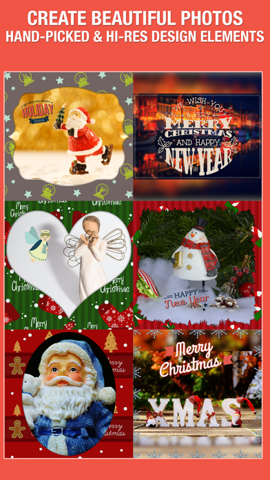 XmasPicFrames – Christmas & New Year Photo Frames screenshot two