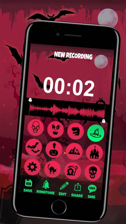 Scary Halloween Voice Changer – Free Funny Sound.s screenshot-3