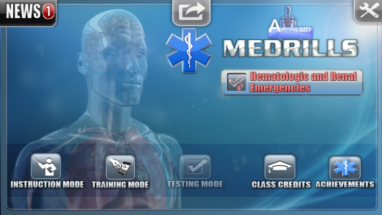 Medrills: Hematologic and Renal Emergencies screenshot-0