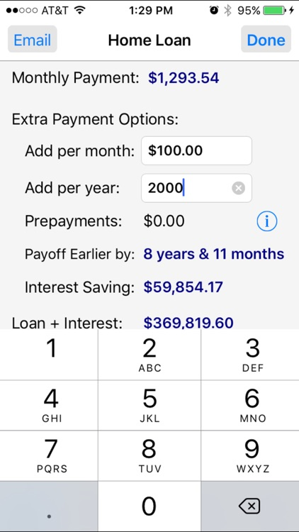 Loan Calculator Pro screenshot-0
