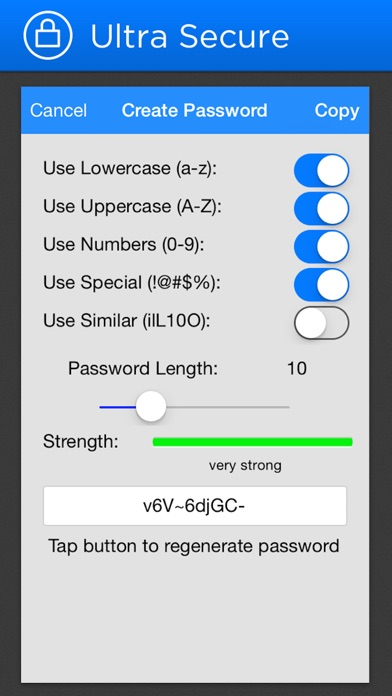 mSecure Password Manager app image