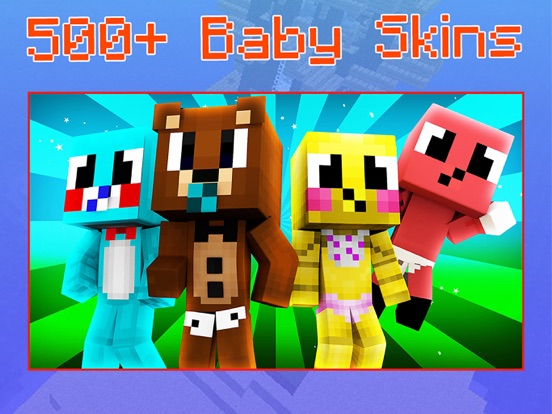 Baby Skins for Minecraft PE - Boy & Girl Skinseed | App