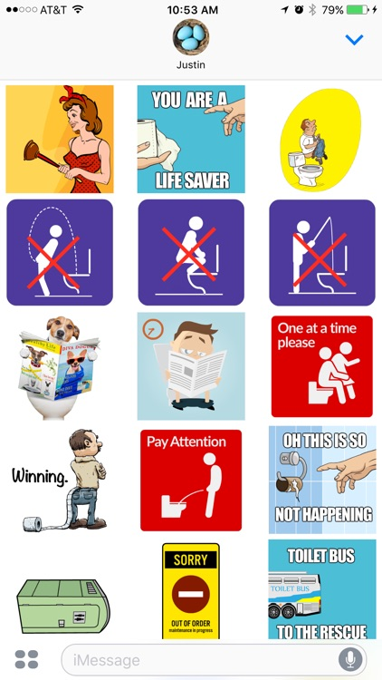 Toilet Stickers