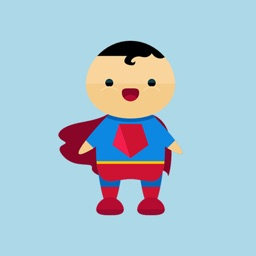 Cartoon Hero Stickers - Good and Evil