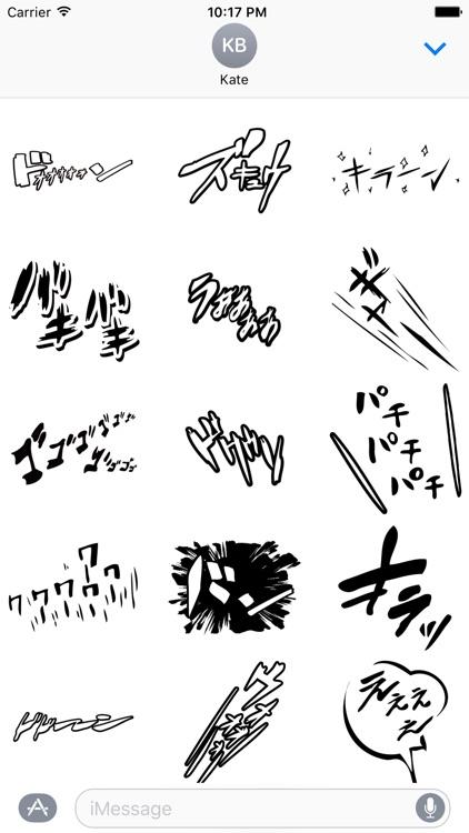Manga-Stickers