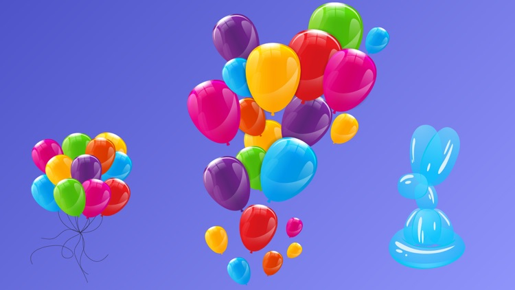 Animated Balloons for iMessage