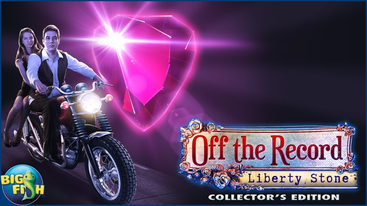 Off the Record: Liberty Stone - A Mystery Hidden Object Game screenshot-4