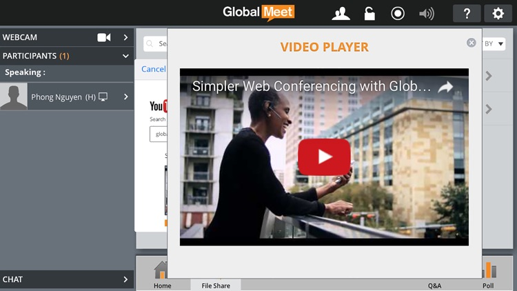 GlobalMeet 4 Web & Audio screenshot-4