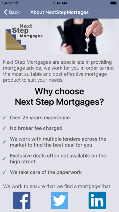 Next Step Mortgages Calculator screenshot two