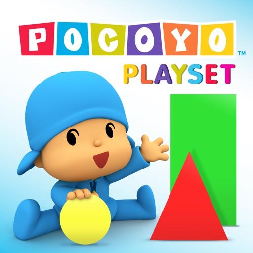 Pocoyo Playset - 2D Shapes