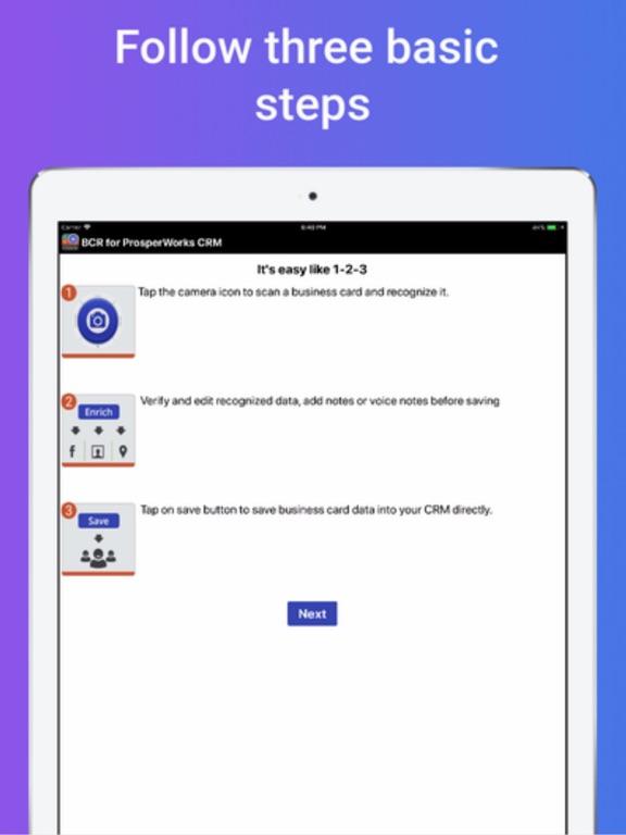 Biz card reader 4 prosperworks app price drops screenshot 1 for biz card reader 4 prosperworks reheart Images