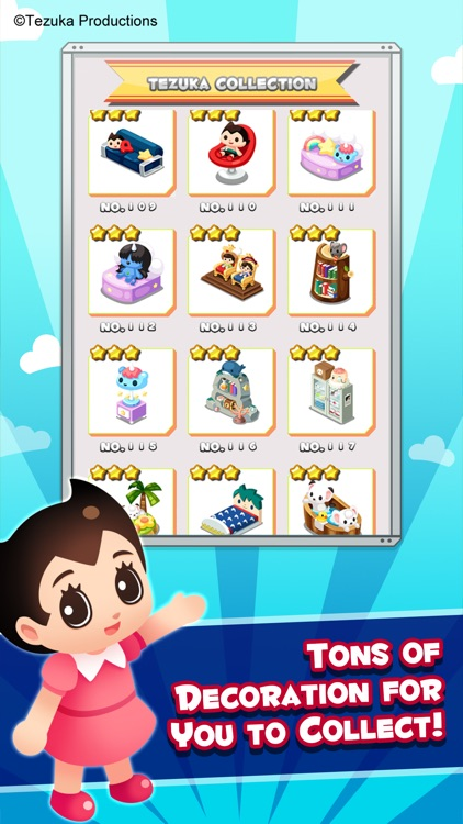 Tezuka World: Astro Crunch - Free Match 3 Game screenshot-3