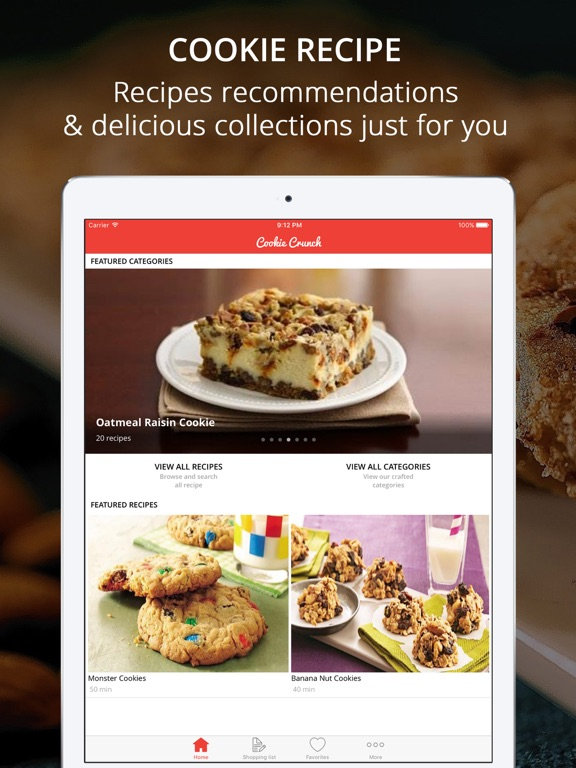 Screenshot #1 for Cookie & Cream Recipes Pro - Cook And Learn Guide