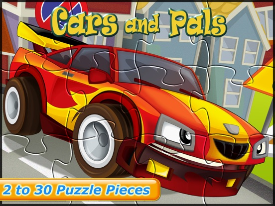 Car Games Fun Puzzles for Kids для iPad