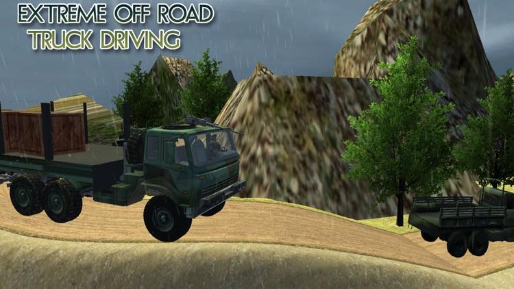 Off-Road Army Cargo Truck Transporter screenshot-3
