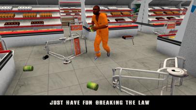 Vegas Supermarket Gangster Escape 3D screenshot one