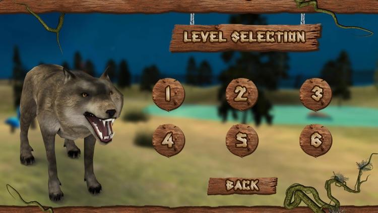 Wild Attack Wolf Simulator 3D screenshot-4