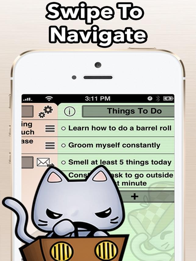 TaskCat - Simple Todo Tasklist Screenshot
