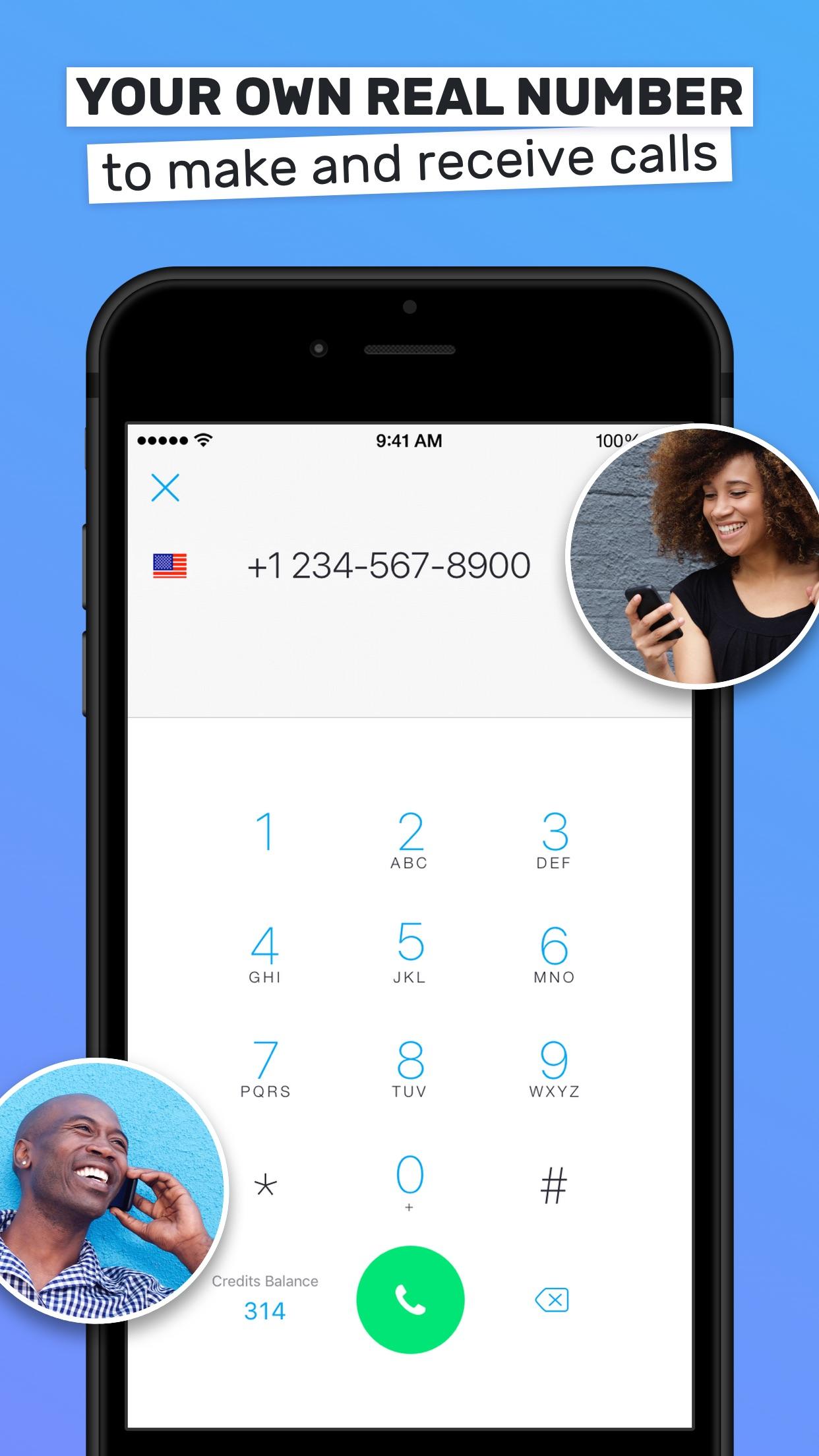 Text Me! - Phone Calls + Text Screenshot