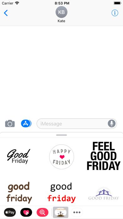点击获取Good Friday Stickers 2018