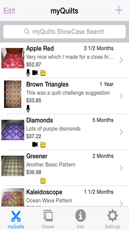 myQuilts screenshot-1
