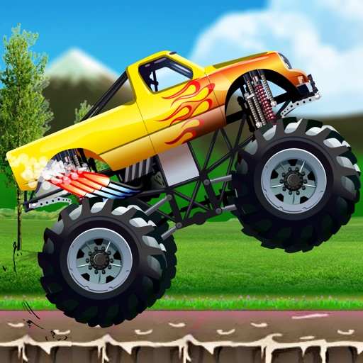 Car Truck Hill Racing : Monster Mountain Climb