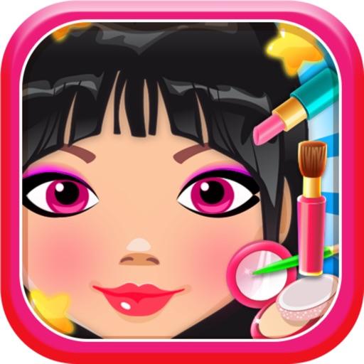 star hair and salon makeup fashion games free iOS App