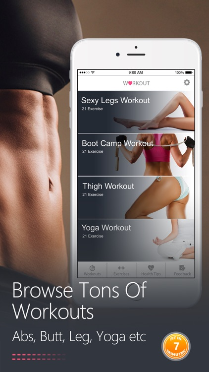 Female Fitness Workouts- Exercise For Women Health screenshot-2