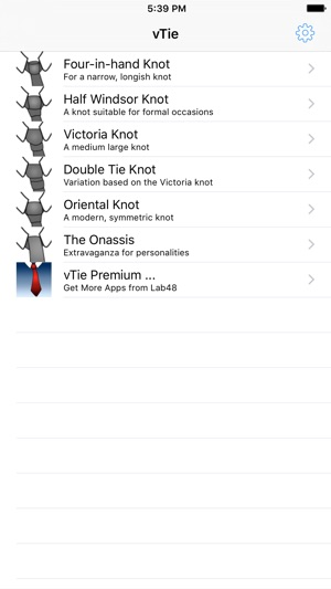 Vtie tie a tie guide with style for business interview wedding iphone screenshots ccuart Image collections