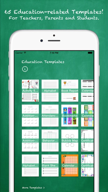 Education Templates (for Pages)