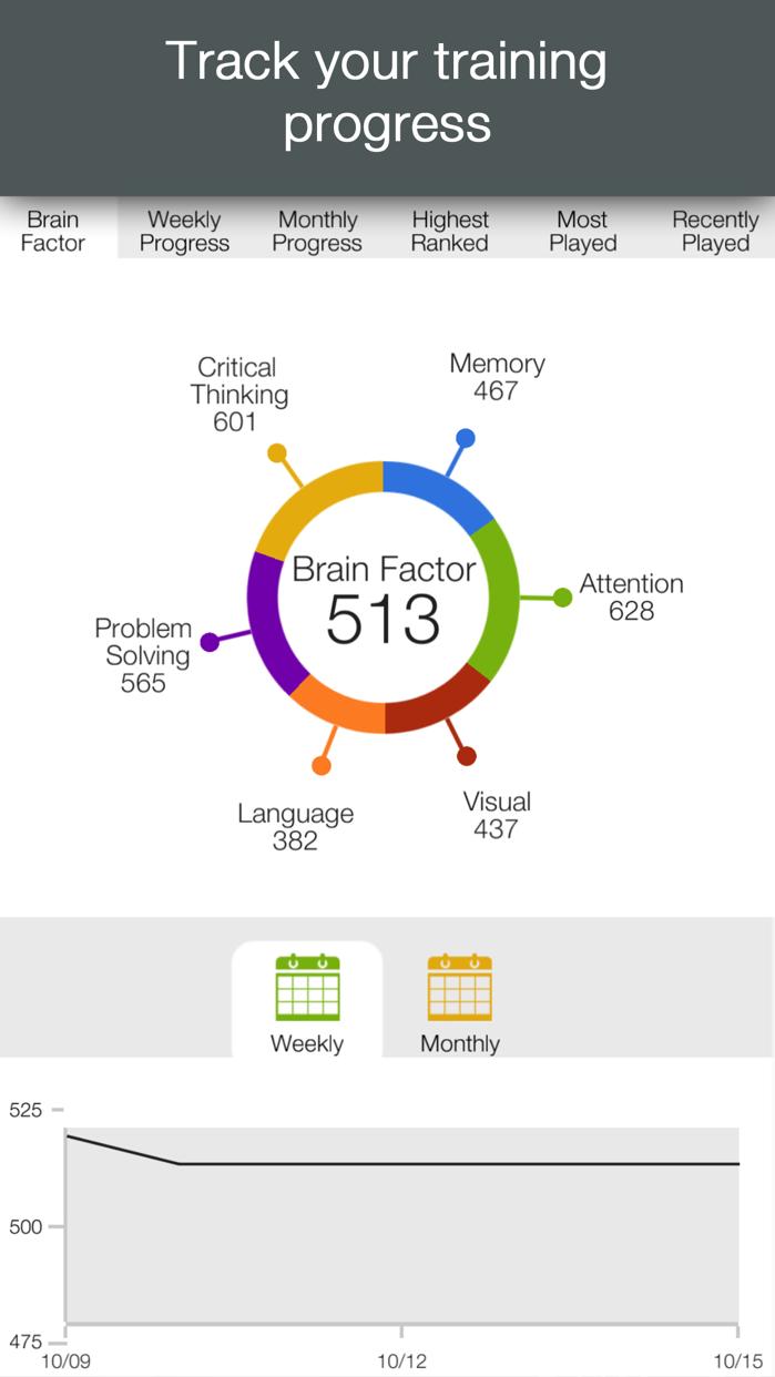 Brainwell – Brain Training Screenshot