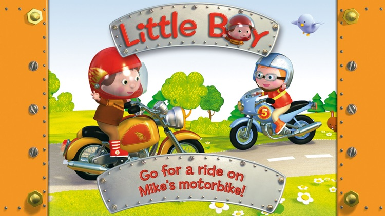 Mike's motorbike - Little Boy screenshot-0