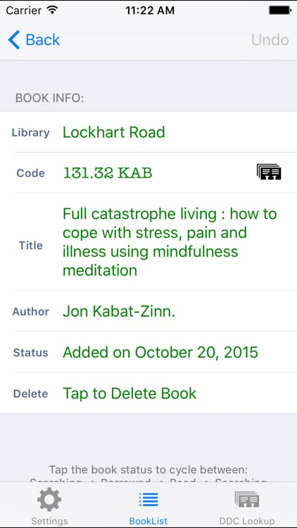 MyLibraryList screenshot-1