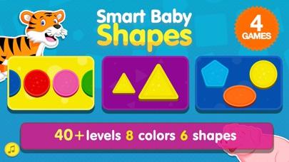Smart Baby Shapes: Learning games for toddler kids Screenshot